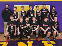 Courtesy Photo<br /> The McDonald County seventh grade boys' basketball team settled for second place in the Big 8 West tournament after dropping a 37-31 decision to Seneca in overtime on Feb. 5 in Mount Vernon.
