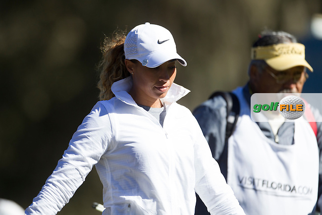 Cheyenne Woods during the Second day of the Second round of the LPGA Coates Golf Championship 2016 , from the Golden Ocala Golf and Equestrian Club, Ocala, Florida. 5/2/16<br /> Picture: Mark Davison | Golffile<br /> <br /> <br /> All photos usage must carry mandatory copyright credit (&copy; Golffile | Mark Davison)