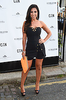 Francine Lewis<br /> arrives for the Amy Childs Summer Collection show at Beach Blanket Babylon, Notting Hill, London.<br /> <br /> <br /> ©Ash Knotek  D3129  06/06/2016