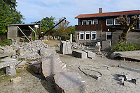 Steinbruchmuseum Mosel&oslash;kke in Sandvig auf der Insel Bornholm, D&auml;nemark, Europa<br /> Quarry Museum Mosel&oslash;kke in Sandvig, Isle of Bornholm Denmark