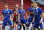 David Brooks of Sheffield Utd surrounded during the U23 Professional Development League match at Bramall Lane Stadium, Sheffield. Picture date: September 6th, 2016. Pic Simon Bellis/Sportimage