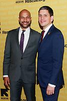 NEW YORK, NY - NOVEMBER 1: Keegan-Michael Key and  David Miliband  at IRC Hosts The 2018 Rescue Dinner at New York Hilton Midtown on November 1, 2018 in New York City.        <br /> CAP/MPI99 <br /> &copy;MPI99/Capital Pictures