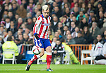 Atletico de Madrid french foward Antoine Griezmann during the king´s cup football match with Atletico de Madrid vs Real Madrid at the Santiago Bernabeu stadium in Madrid on Jaunary 15, 2015. Samuel de Roman / Photocall3000.
