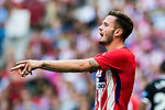 Saul Niguez Esclapez of Atletico de Madrid reacts during the La Liga 2017-18 match between Atletico de Madrid and Sevilla FC at the Wanda Metropolitano on 23 September 2017 in Madrid, Spain. Photo by Diego Gonzalez / Power Sport Images