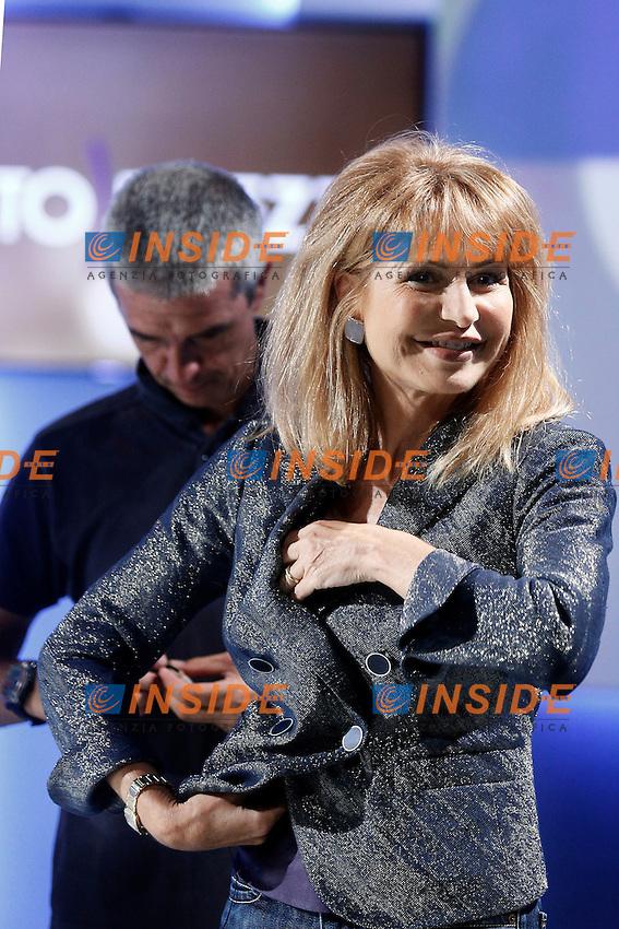 Lilli Gruber.Roma 11/09/2012 La7 - Otto e Mezzo.Foto Serena Cremaschi Insidefoto