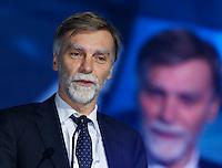 Graziano Del Rio , ministro infrastrutture partecipa ad un convegno di Confindustria a Napoli