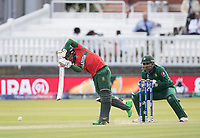 Liton Das (Bangladesh) drives straight during Pakistan vs Bangladesh, ICC World Cup Cricket at Lord's Cricket Ground on 5th July 2019