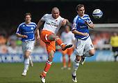 24/04/2010  Peterborough Utd v Blackpool Coca Cola Championship.....pic ©  Phill Heywood