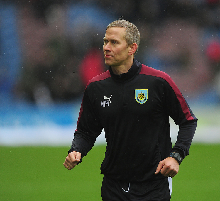 Burnley&rsquo;s head of sports science Mark Howard during the pre-match warm-up <br /> <br /> Photographer Chris Vaughan/CameraSport<br /> <br /> Football - The Football League Sky Bet Championship - Burnley v Hull City - Saturday 6th February 2016 - Turf Moor - Burnley <br /> <br /> &copy; CameraSport - 43 Linden Ave. Countesthorpe. Leicester. England. LE8 5PG - Tel: +44 (0) 116 277 4147 - admin@camerasport.com - www.camerasport.com