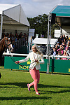 Stamford, Lincolnshire, United Kingdom, 4th September 2019, Georgie Spence (GB) & Wii Limbo during the 1st Horse Inspection of the 2019 Land Rover Burghley Horse Trials, Credit: Jonathan Clarke/JPC Images