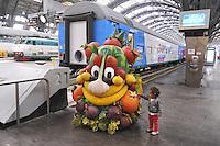 - il treno ExpoExpress, in viaggio attraverso tutta l'Italia per promuovere l'Esposizione Universale 2015 a Milano<br /> <br /> - the train ExpoExpress, traveling throughout Italy in order to promote the Universal Exposition 2015 in Milan
