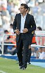 Levante's coach Luis Garcia Plaza during La Liga match. September 11, 2010. (ALTERPHOTOS/Alvaro Hernandez)