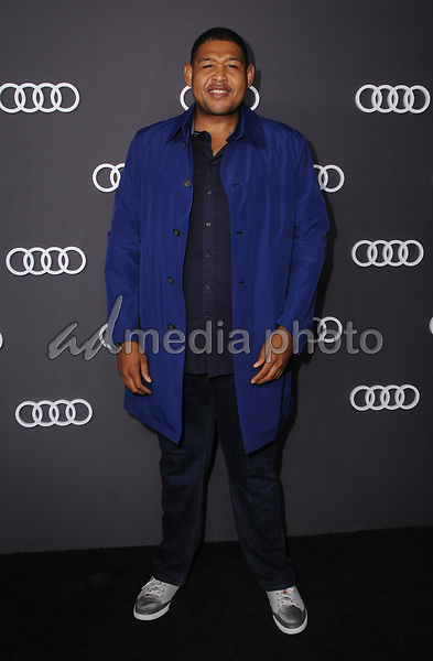 13 September  2017 - Hollywood, California - Omar Benson Miller. Audi Celebrates the 69th Emmys held at The Highlight Room in Hollywood. Photo Credit: Birdie Thompson/AdMedia