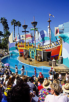 Sea World show in San Diego Zoo, California, USA