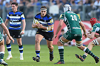 Victor Delmas of Bath Rugby in possession. Aviva Premiership match, between Bath Rugby and London Irish on May 5, 2018 at the Recreation Ground in Bath, England. Photo by: Patrick Khachfe / Onside Images