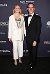 CULVER CITY, CA - NOVEMBER 11: Political strategist Amy Wakeland (L) and husband/Mayor of Los Angeles Eric Garcetti attend the 2017 Baby2Baby Gala at 3Labs on November 11, 2017 in Culver City, California.
