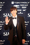 Song Jae-Lim, Oct 28, 2014 : South Korean model and actor Song Jae-lim poses before the 2014 Style Icon Awards (SIA) in Seoul, South Korea. The SIA is a style and culture festival. (Photo by Lee Jae-Won/AFLO) (SOUTH KOREA)