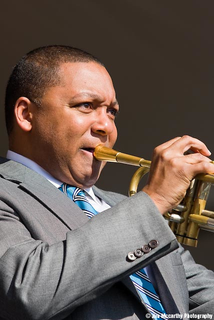 Wynton Marsalis at Jazz Fest 2009