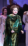Caroline O'Connor during Broadway Opening Night Performance Curtain Call bows for 'Anastasia' at the Broadhurst Theatre on April 24, 2017 in New York City.