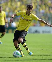 FUSSBALL       DFB POKAL 1. RUNDE        SAISON 2013/2014 SV Wilhelmshaven - Borussia Dortmund    03.08.2013 Nuri Sahin (Borussia Dortmund)  am Ball