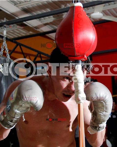 Jorge &uml;El Travieso&uml; Arce, Boxeadro.<br /> <br /> Isrrael Garnica / &copy;Norte Photo