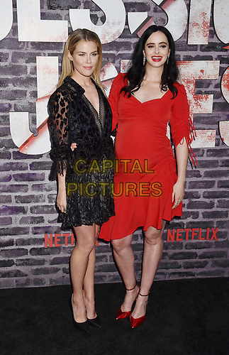 """HOLLYWOOD, CA - MAY 28: Rachael Taylor (L) and Krysten Ritter attend a Special Screening Of Netflix's """"Jessica Jones"""" Season 3 at ArcLight Hollywood on May 28, 2019 in Hollywood, California.<br /> CAP/ROT/TM<br /> ©TM/ROT/Capital Pictures"""