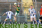 Conor Cox Kerry in action with Waterford No3 Colm Flaherty in the under 21 All - Ireland Semi Final Championships on Wednesday at Austin Stack Park, Tralee.....