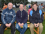 Joe White, Ciaran Cousins and John Jennings pictured at St Mary's GFC family fun day. Photo:Colin Bell/pressphotos.ie