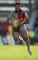 Harlequins' Alofa Alofa<br /> <br /> Photographer Bob Bradford/CameraSport<br /> <br /> Aviva Premiership Round 14 - Harlequins v Wasps - Sunday 11th February 2018 - Twickenham Stoop - London<br /> <br /> World Copyright &copy; 2018 CameraSport. All rights reserved. 43 Linden Ave. Countesthorpe. Leicester. England. LE8 5PG - Tel: +44 (0) 116 277 4147 - admin@camerasport.com - www.camerasport.com