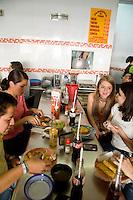 El Turix taco joint and their famous Cochinita Pibil tacos, Colonia Polanco, Mexico City