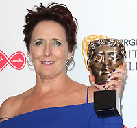 Fiona Shaw at the Virgin Media BAFTA Television Awards 2019 - Press Room at The Royal Festival Hall, London on May 12th 2019<br /> CAP/ROS<br /> ©ROS/Capital Pictures