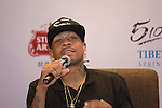 Allen Iverson during the Sports Legends Press Conference on the sidelines of the World Celebrity Pro-Am 2016 Mission Hills China Golf Tournament on 22 October 2016, in Haikou, China. Photo by Weixiang Lim / Power Sport Images