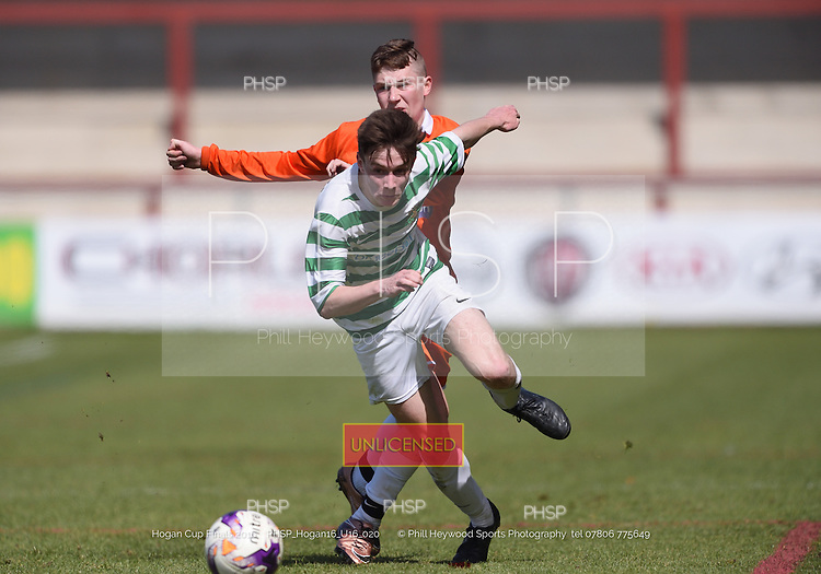 15/05/2016 Hogan Cup Final 2016 U-16's AFC Blackpool v Foxhall<br /> To order a print click on &quot;Add to Cart&quot; Size and pricing options will be displayed