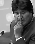Evo Morales Ayma, President of the Plurinational State of Bolivia,