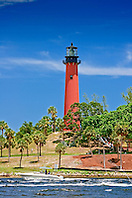 Jupiter Inlet Lighthouse, Jupiter, Florida, USA, Atlantic Ocean