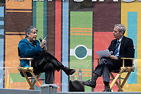 "Janey Napolitano, Author of ""How Safe Are We: Homeland Security Since 09/11, "" interviewed by Scott Kraft at the Los Angeles Times Festival of Books held at the USC Campus in Los Angeles, California on Sunday, April 14, 2019"