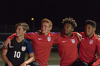 LAKEWOOD RANCH, FL - December 2, 2016: The U.S. Men's National team U-17s vs Turkey. 2016 Nike International Friendlies at Premier Sports Campus.