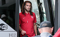 Philadelphia, PA - Wednesday July 19, 2017: Graham Zusi during a 2017 Gold Cup match between the men's national teams of the United States (USA) and El Salvador (SLV) at Lincoln Financial Field.