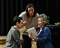 "Cardiff, UK. 11.05.2018. Welsh National Opera's ""Rhondda Rips It Up!"" in rehearsal, at the Wales Millenium Centre, Cardiff. Photograph © Jane Hobson."