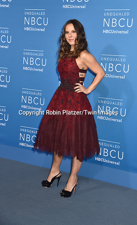 Kate Del Castillo  of &quot;La Reina del Sur&quot; attends the NBCUNIVERSAL 2017 UPFRONT on May 15, 2017 at Radio City Music Hall in New York, New York, USA.<br /> <br /> photo by Robin Platzer/Twin Images<br />  <br /> phone number 212-935-0770