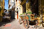 Street scenes in Chania, Crete, Greece
