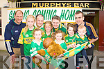 Murphy's bar, Killarney who are urging fellow vintners around the county to fill the bar with the green and gold in support to the Kerry team front row l-r-r: Emma, Tara, Rebecca, Isobelle Murphy, Georgia and Craig Brosnan. Back row: Sean Murphy, Denis Brosnan, Tom O'Brien and Kevin Breen