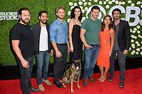 Seal Team Cast at CBS TV's Summer Soiree at CBS TV Studios, Studio City, CA, USA 01 Aug. 2017<br /> Picture: Paul Smith/Featureflash/SilverHub 0208 004 5359 sales@silverhubmedia.com