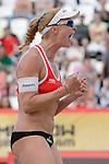 30.05.2015, Moskau, Vodny Stadion<br /> Moskau Grand Slam, Main Draw / Halbfinale<br /> <br /> Jubel Madelein Meppelink (#2 NED)<br /> <br />   Foto © nordphoto / Kurth