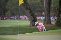 Sergio Garcia (ESP) chips on to 9 during round 4 of The Players Championship, TPC Sawgrass, at Ponte Vedra, Florida, USA. 5/13/2018.<br /> Picture: Golffile | Ken Murray<br /> <br /> <br /> All photo usage must carry mandatory copyright credit (&copy; Golffile | Ken Murray)