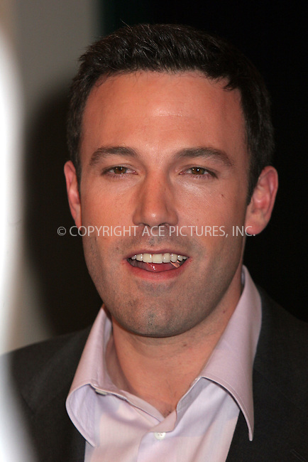 WWW.ACEPIXS.COM . . . . .  ....December 6, 2006, New York City. ....Ben Affleck Participates in an Onstage Discussion about his latest movie 'Hollywoodland' at the Walter Reade Theater. ....Please byline: NANCY RIVERA- ACE PICTURES.... *** ***..Ace Pictures, Inc:  ..Philip Vaughan (212) 243-8787 or (646) 769 0430..e-mail: info@acepixs.com..web: http://www.acepixs.com