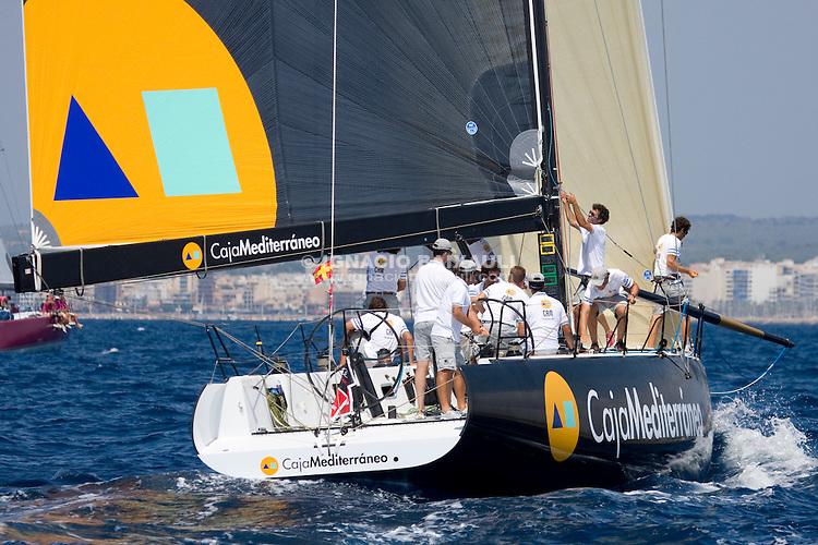 CAM - CAJA MEDITERRANEO .S.A.R FELIPE DE BORBON .F.SANCHEZ / F.LEON .R.C.R.A. / R.C.N.G.C. .FARR 54 - XXVII Copa del Rey de vela - Rela Club Náutico de Palma - 26 July to 2 Agost 2008 - Palma de Mallorca - Baleares - España