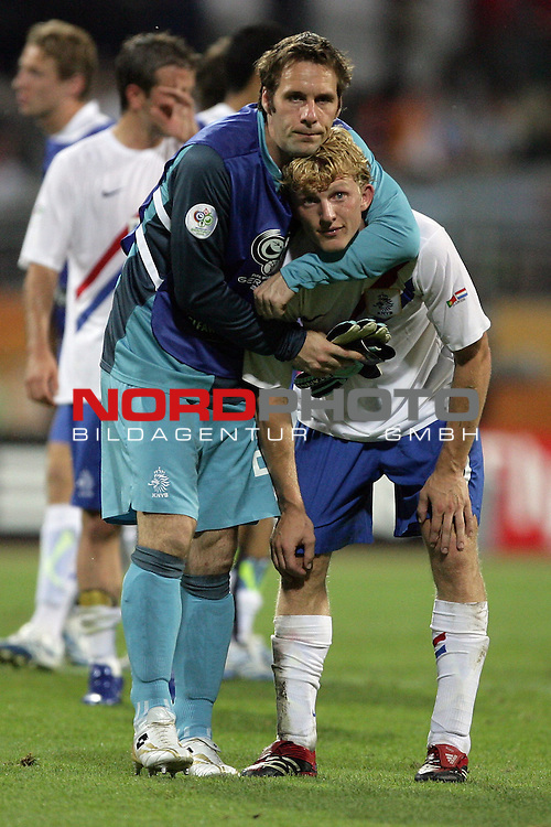 FIFA WM 2006 -  Round of Sixteen - / Viertelfinale <br /> Play     #52 (25-Jun) - Portugal vs Niederlande ( Holland ) 1:0<br /> <br /> <br /> Dirk Kuyt<br /> <br /> <br /> Foto &copy; nordphoto