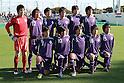 Meiji University team group line-up,.DECEMBER 25, 2011 - Football / Soccer :.Meiji University team group shot (Top row - L to R) Shun Takagi, Kohei Toyoshima, Ryota Iwabuchi, Keisuke Kusunoki, Yuichi Maruyama, Toyofumi Sakano, (Bottom row - L to R) Keita Tanaka, Hirotaka Mita, Masaki Miyasaka, Asahi Yada and Daiki Ogawa before the 60th All Japan University Football Championship semifinal match between Keio University 1-2 Meiji University at Nishigaoka Stadium in Tokyo, Japan. (Photo by Hiroyuki Sato/AFLO)