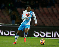 Amadou Diawara  during the SSC Napoli vs Atalanta, serie A  soccer match at  San Paolo Stadium in Naples , Italy 25 February 2017 Photo: Ciro De Luca ciro de luca<br />   +39 02 43998577 sales@silverhubmedia.it
